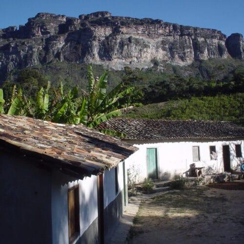 Casa de moradores do Pati